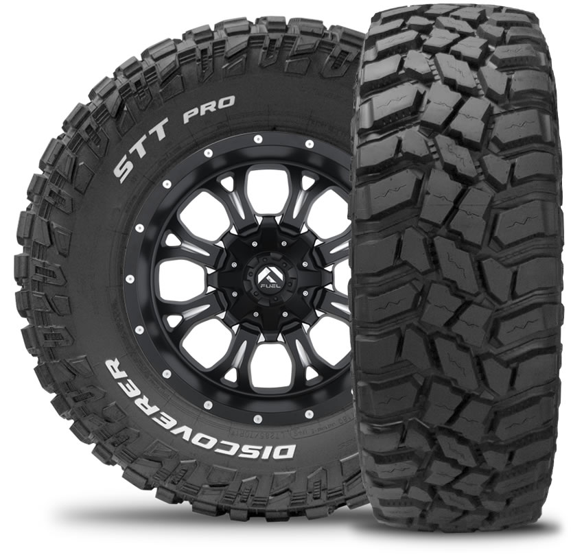 Gomme 4x4 Suv Cooper Tyres 275/65 R18 123/120K DISCOVERER STT PRO P.O.R M+S Estivo