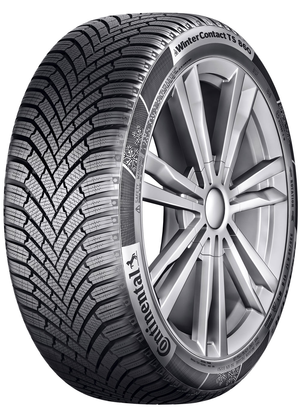 Gomme Autovettura Continental 175/65 R14 82T WinterContact TS 860 M+S Invernale