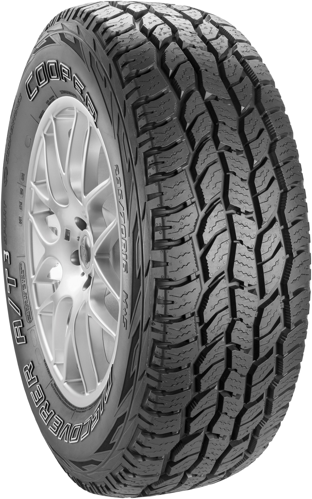 Gomme 4x4 Suv Cooper Tyres 255/70 R15 108T DISCOVERER A/T3 SPORT All Season